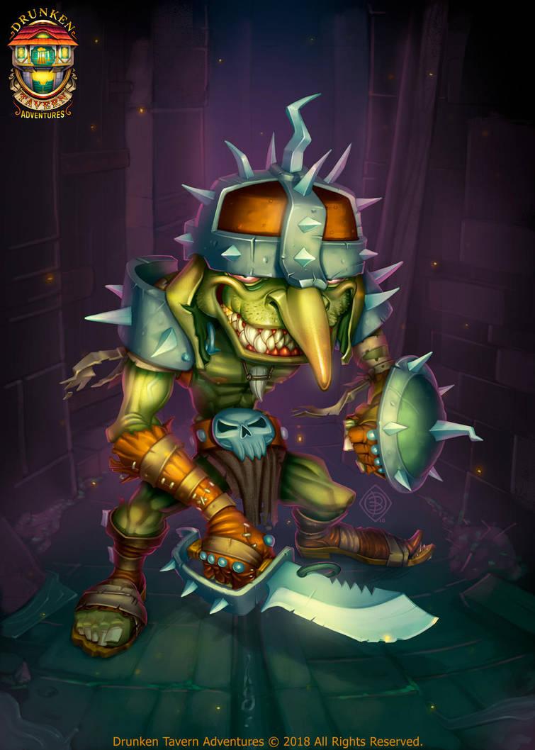 Goblin by Lord-Dragon-Phoenix