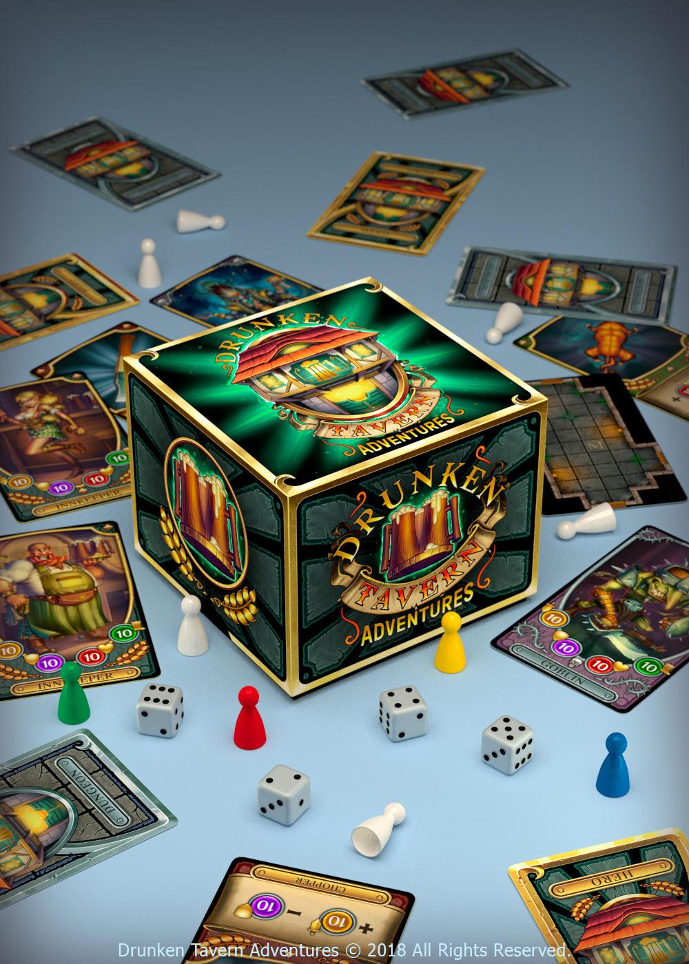 Box - Drunken Tavern Adventures by Lord-Dragon-Phoenix