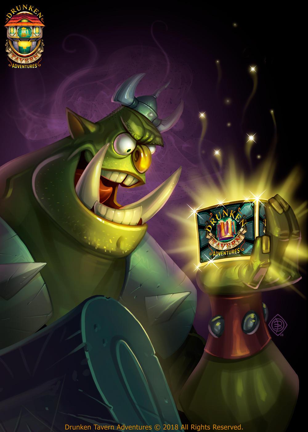 Orc - Drunken Tavern Adventures by Lord-Dragon-Phoenix