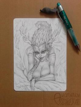 Dryad by Lord-Dragon-Phoenix