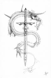 Mental Dragon 02 by Lord-Dragon-Phoenix