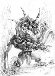 Wolf Dragon by Lord-Dragon-Phoenix