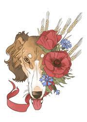 dog calendar cover by m-u-h-a
