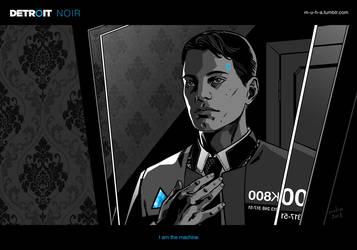Detroit: NOIR - I am the machine by m-u-h-a