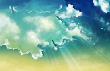 Cloud Speedpaint #1 by Petuniabubbles