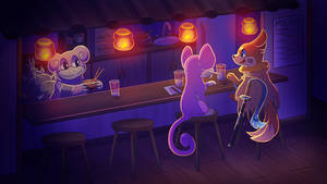 Commission - Noodle Night by Petuniabubbles