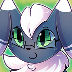 Patron Request - Meowstic Icon by Petuniabubbles