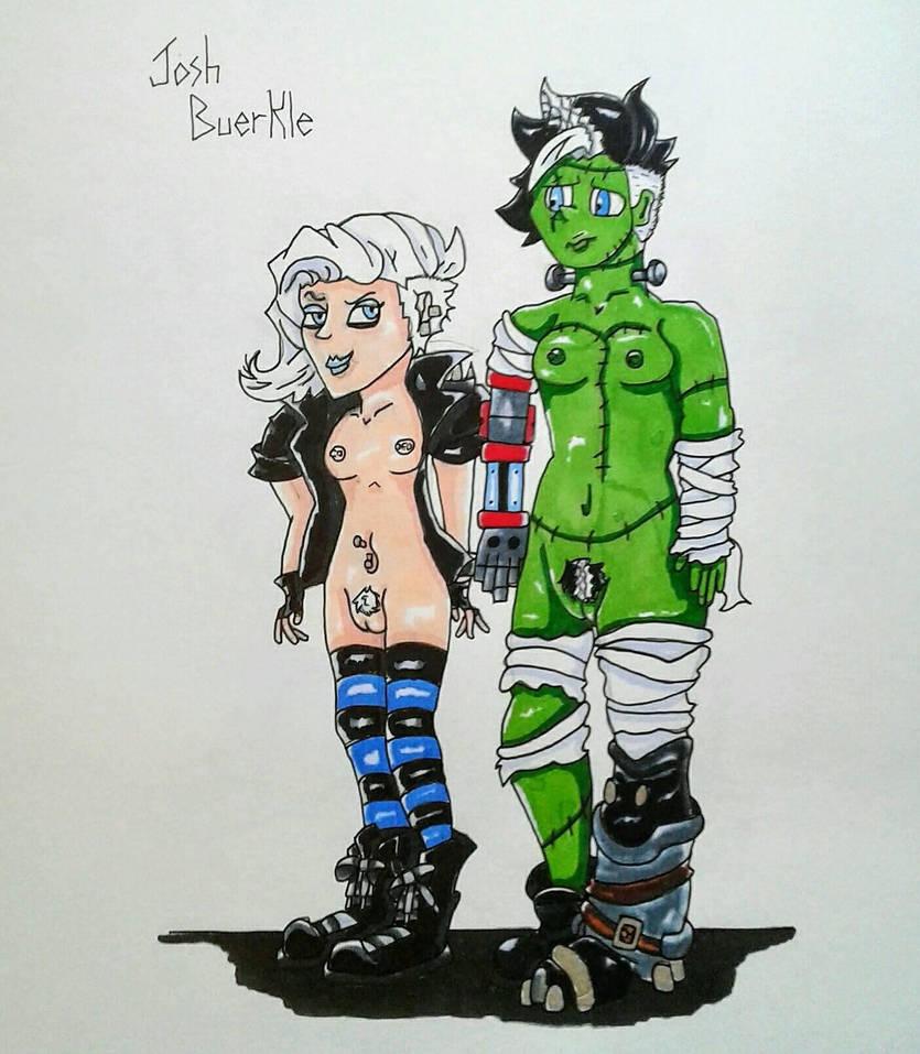 I think Jessie made a new friend.  by JBUERKLE11