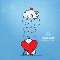 Rain Love by BIGLI-MIGLI