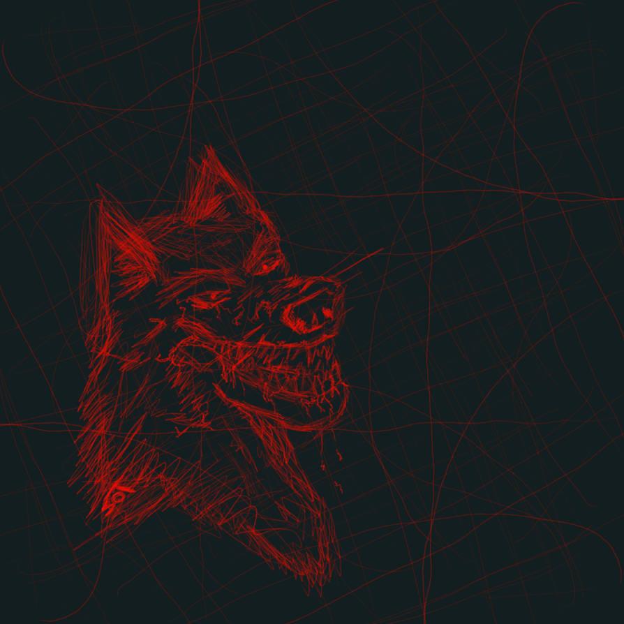 Bloodwolf by Bugglemuffin