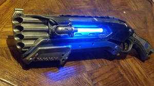 Prototype Mark III Nerf Rough-Cut shotgun by DrDisco777