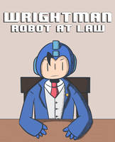 Wrightman Robot at Law by WaywardDoodles