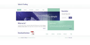 Sales and Trading Site by Frozz