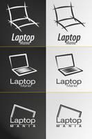 Laptop Mania logo v1 by Frozz