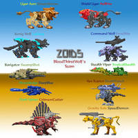 Zoids Recolored by Bloodthirstwolf