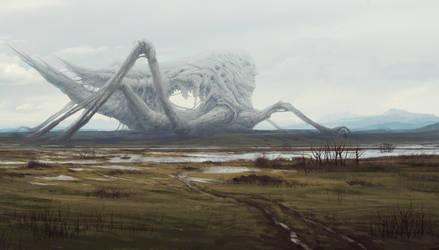 Alien corpse by snaku6763