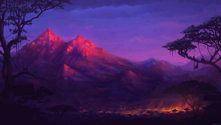 Sunset by snaku6763