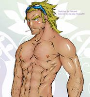Cannonball Sexy hunk Tan by mysoul89