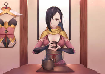 Kagero fire emblem, Commission by A3wp