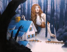 The Riverbed Nightingale by mynameistran