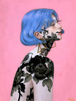 The Cerulean Girl by mynameistran