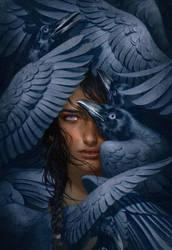 The Storm Crow by mynameistran