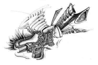 Falling Dragon by newepoch