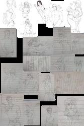 Dulce: Assorted art dump by AiriTankou