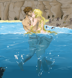 Dulce: Swimming with Selkies by AiriTankou