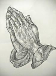 Praying Hands by mrPaulDure