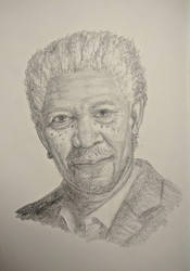Morgan Freeman by mrPaulDure