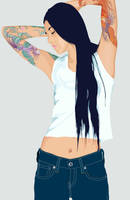 Vector Art - Girl 04 by yolks