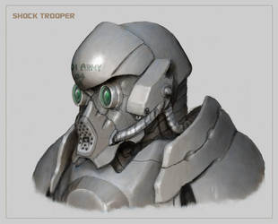 Shock Trooper by Aerythes
