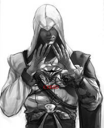 Ezio from Assassin's Creed by luulala