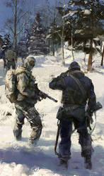 Fanart for modern warfare 2 by luulala