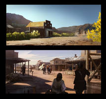 Wild west concept SP practice by luulala
