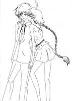 Ahiru and Fakir Fic UA by Akiko-Himura