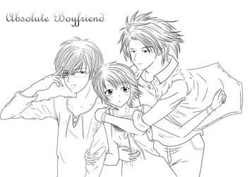 Absolute Boyfriend - Skip Beat! by Akiko-Himura