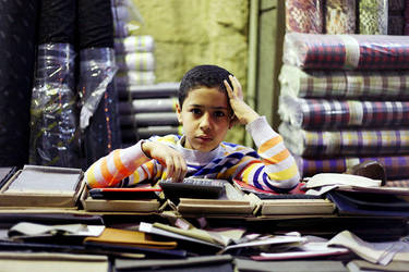 Shopkeeper Boy, Cairo by tanya-n