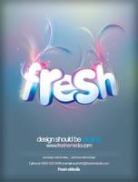 Fresh eMedia Blueprint Advert by ardcor