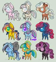 CLOSED OTA Pony adopt sheet #2 by VentoftheFallen