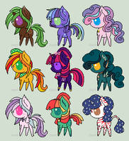CLOSED Point Pony Adopt Sheet by VentoftheFallen