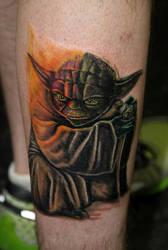 Darth Yoda by Dragon8z