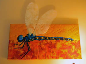 Wicked Dragonfly by quiltingrobbie
