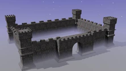 Castle by crimsonbrony