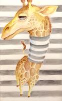 Giraffe Stripes by FigBeater