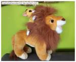 Mufasa and Simba by KamishaTheCollector
