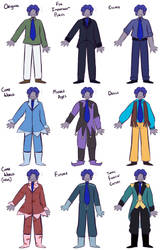 Huxley's Outfits by Rhi-Bread