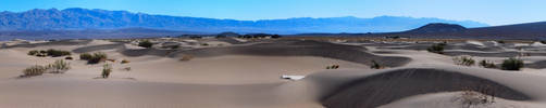 Death Valley Dunes by decideroffate