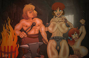 dungeon scene by Pichardettes